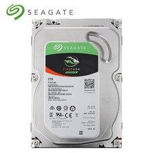 Seagate 2 ТБ FireCuda Gaming SSHD (твердотельный гибридный привод)-7200 об./мин. SATA 6 ГБ/сек. 64 MB cache 3,5-дюймовый жесткий диск ST2000DX002