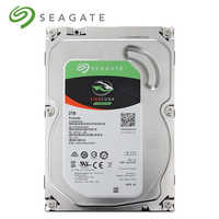 Seagate 2TB FireCuda Gaming SSHD (Solid State Hybrid Drive) - 7200 RPM SATA 6Gb/s 64MB Cache 3.5-Inch Hard Drive ST2000DX002