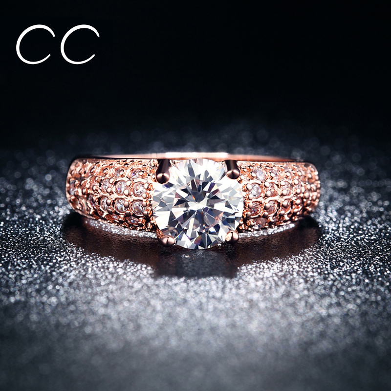 Fine Rose Gold Plated Ringss