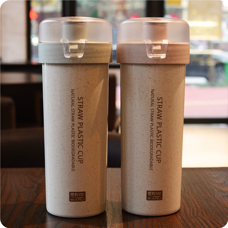 400ml With Safe Lock Water Bottle Brief Design Portable Tea Bottle Fashion Home and Office Water Bottle Healthy Drinking