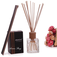 200ml Large Volume Diffuser Reed Sticks Aromatherapy Oil Sets Oil Essential Aromatherapy Lavender/Ocean/Jasmine/Sandalwood,etc