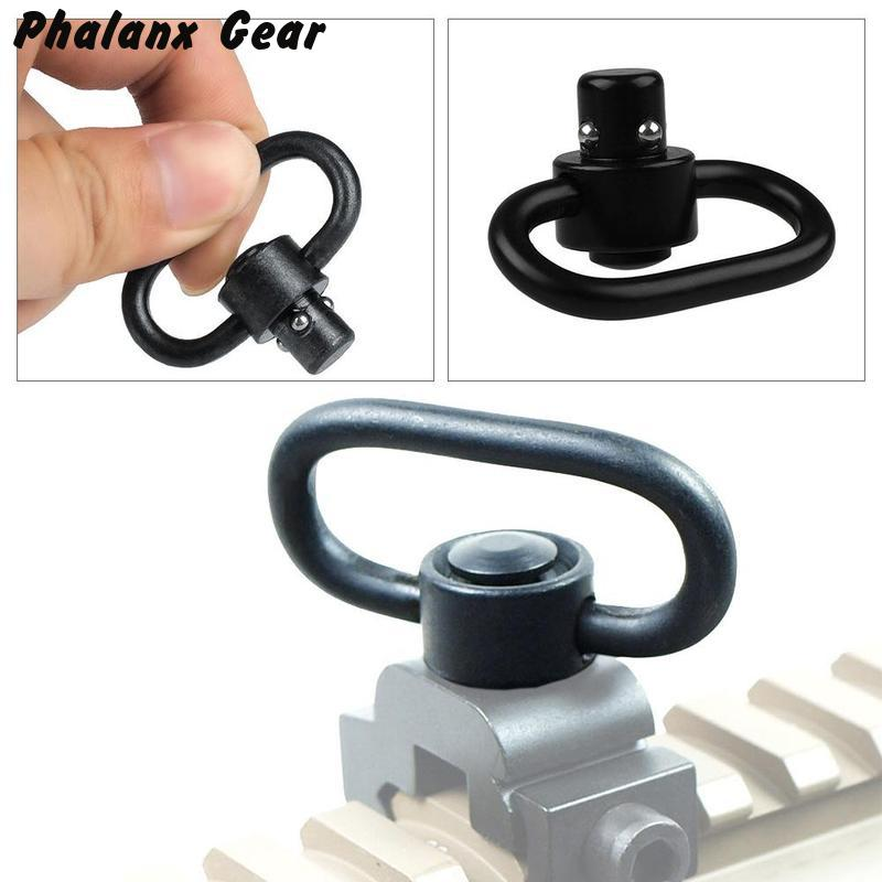 Image 4 - Quick Detach Sling Swivel Detachable Adapter Tactical Hunting Attachment-in Scope Mounts & Accessories from Sports & Entertainment