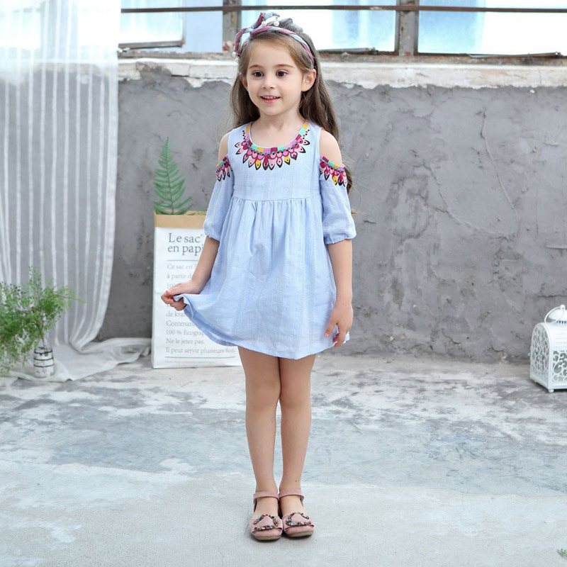 Novo das Crianças 3-10 t 2018 Moda Meninas
