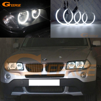 Excellent Quality Ultrabright Headlight Illumination CCFL Angel Eyes Kit For BMW E83 X3 2003 2010 Angel