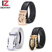 DESTINY Fashion Designer Belts Men High Quality Male Genuine Leather Strap Waist Luxury Brand Wedding Belt Jeans Leopard Cowboy все цены