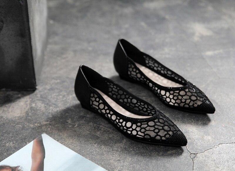 새로운 유행 여성 플랫 신발-에서앵클 부츠부터 신발 의  그룹 1