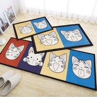 Creative New Fashion Printed Cartoon Door Floor Mat For Bedroom Living Room Bedroom Home Floor Rug Carpet Rug Soft Kitchen Mat