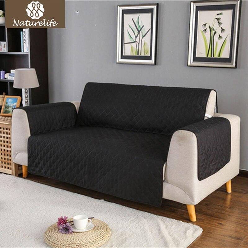 Naturelife Waterproof Dog Sofa Seat Cover Protector For Cat Pets Reversible Furniture Covers Anti Slip Mat