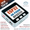 M5Stack NEWEST 4M PSRAM ESP32 Development Board With MPU9250 9DOF Sensor Color LCD For Arduino Micropython