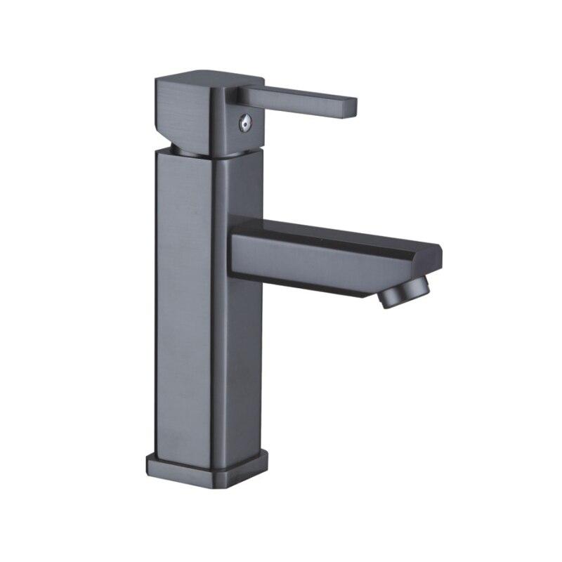 Tout cuivre style européen perle noir tête de dragon eau chaude froide dessin main lavage table robinet d'eau