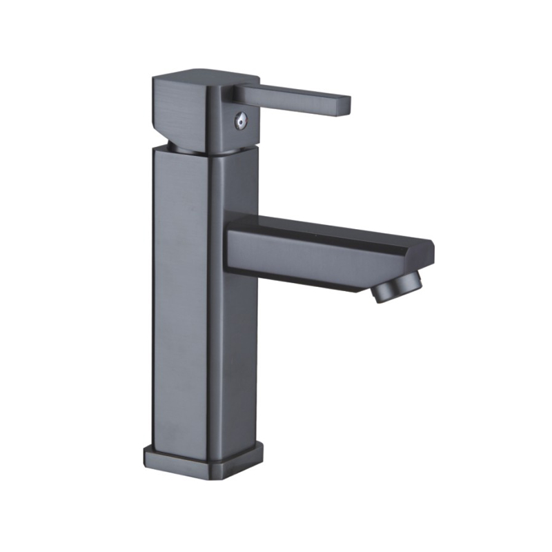 all copper European style pearl black dragon head cold hot water drawing hand washing table water tap