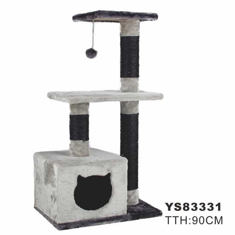 Domestic Delivery Cat Climbing Trestle Cat Scratcher Tree Jus