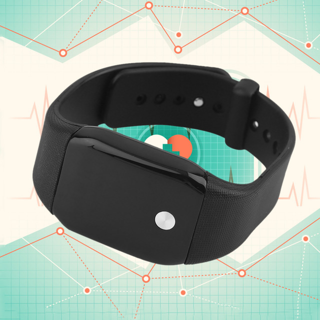 A88 Smart Intelligenct Heart Rate Fitness Bracelet Wristband LCD Screen Hot Sale