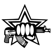 CS-169#18*20cm Special Forces funny car sticker and decal silver/black vinyl auto stickers