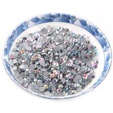 Супер блестящие стразы кристалл ab разные размеры ss6 ss10 ss16