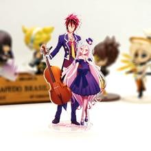 No Game No Life Sora Shiro Stand Figure