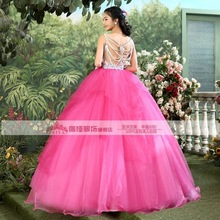 embroidery beading pink luxury medieval dress ball gown siss princess Medieval Renaissance Gown queen Costume Victorian Belle