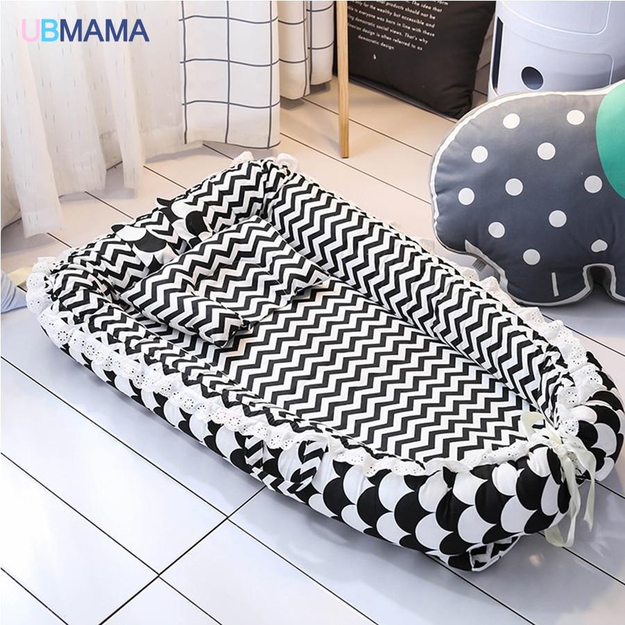 de alta qualidade solida berco cama macia 03