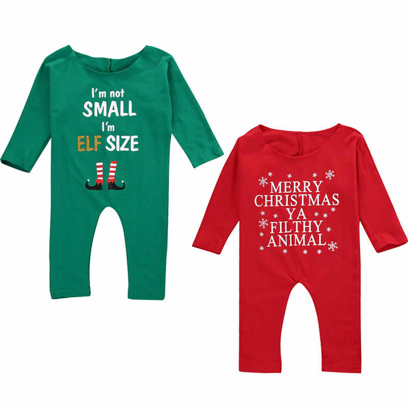 81849d630002 Babies Christmas Off-shoulder Romper Newborn Infant Kids Baby Girl Xmas  Rompers Jumpsuit Festivel Gift