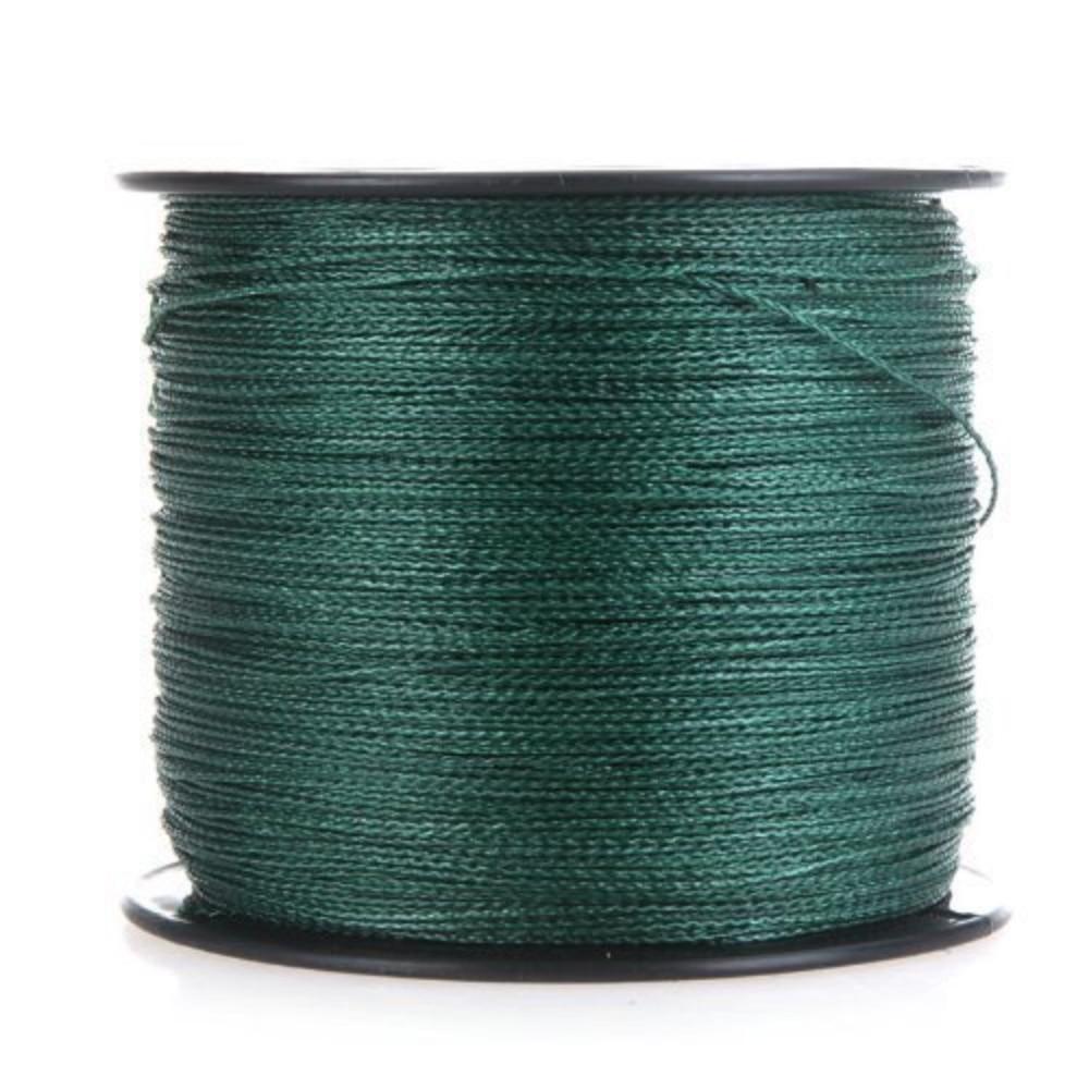 HiUmi 20lb to 200lb 300m 8 strands PE Multifilament 8 Weaves Braided Fishing Line Thread For Carp Fishing