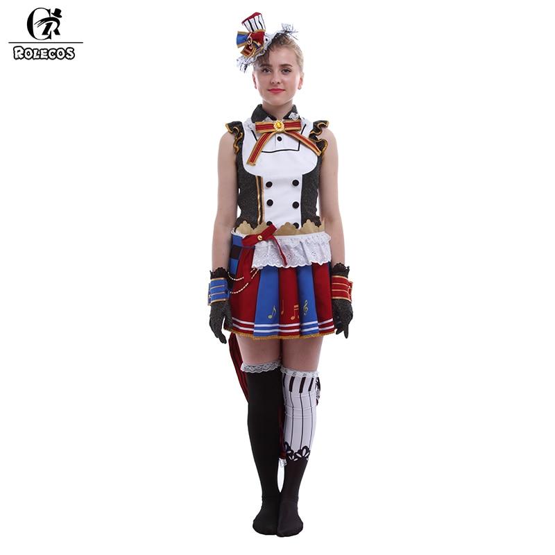 ROLECOS Anime Love Live Cosplay Costumes Maid Arousal Minami Kotori Tojo Nozomi Koizumi Hanayo Ayase Eli Cosplay Costumes