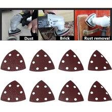 Outils abrasifs 25PC 90mm Delta ponceuse papier sablé crochet & boucle papier abrasif disque pour ponçage grain 40 320