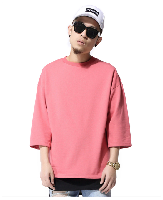 Aliexpress.com : Buy Men t shirt half sleeve O neck kanye fashion ...