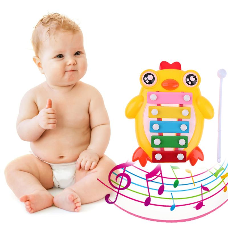 Chick Piano Hit Music Toy Kid Early Education Musical Instruments Wisdom Development Music Instrument Baby Toys Gift