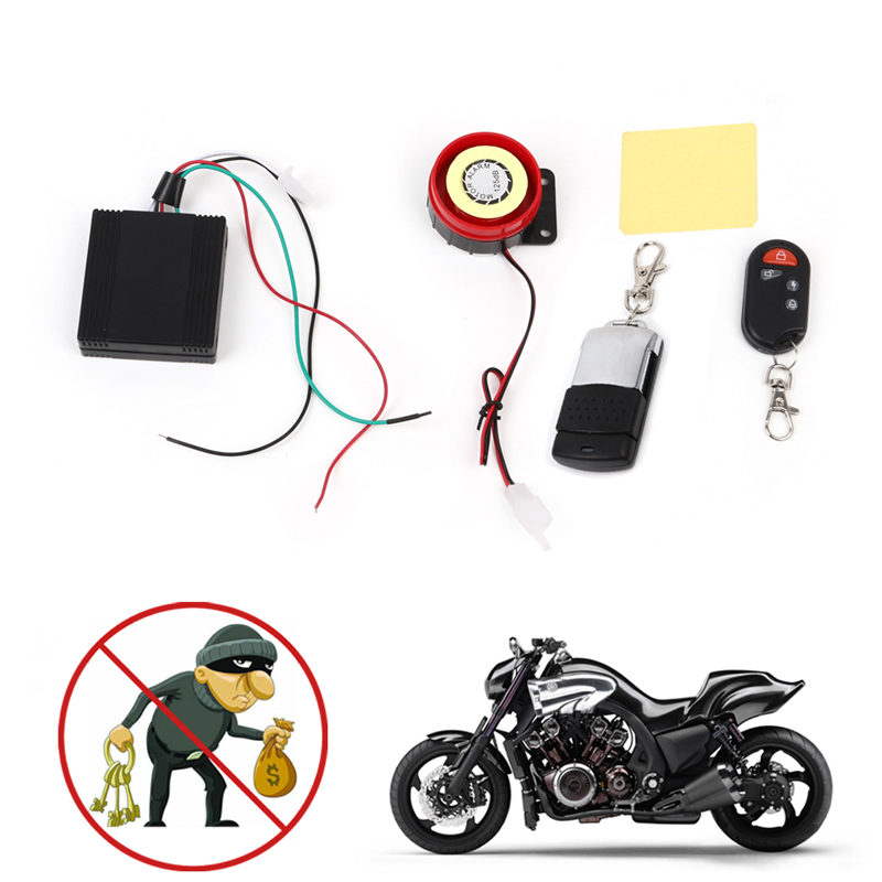 Hot Selling Scooter Car Security Alarm System Remote Control 12V Anti-theft Motorcycle Bike