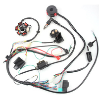 Quad Cluster Switch CDI Wiring Harness Ignition System set Replacement 4 stroke ATV Component Parts Accessories