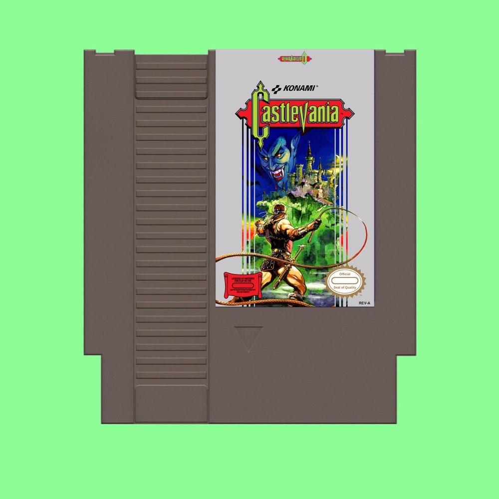 Best Sale Castlevania Game Card For 72 Pin 8 Bit Game Player