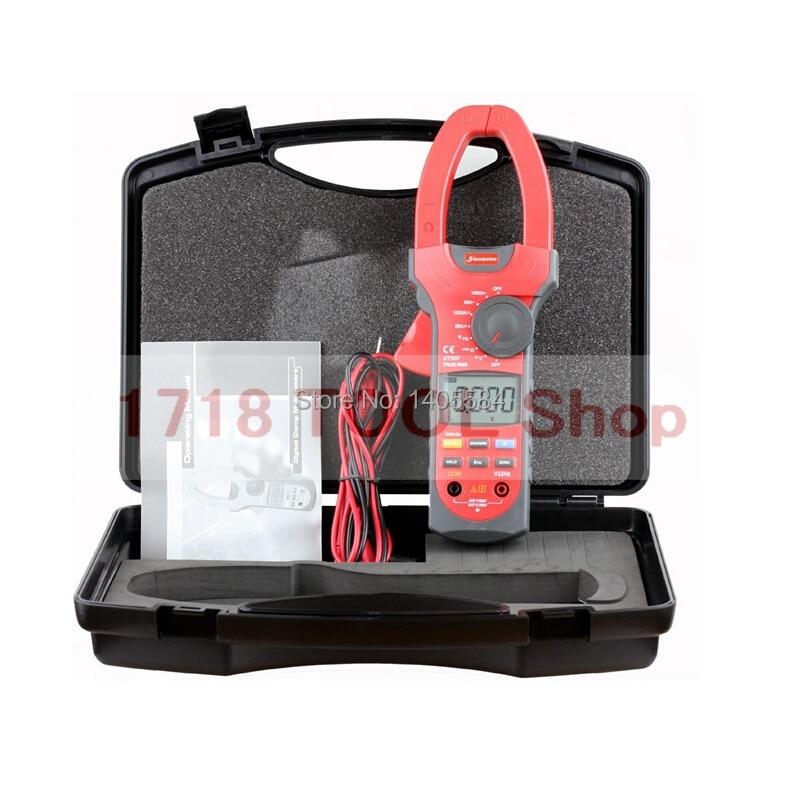 UNI-T UT207 Clamp Digital Multimeter AC DC 1000A  Volt Amp Ohm Hz Temp  clamp meter unit ut 61e ut61e digital handheld multimeter tester dmm ac dc volt ohm frq