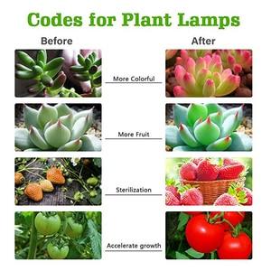 Image 5 - 220V E27 Kweeklampen Lamp 45W Volledige Spectrum Sunlike Groeiende Lamp Daglicht Vervanging Groeien Lamp voor Planten gloeilamp
