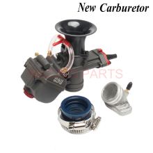 цена на 28mm Carburetor with power jet For MAIKUNI Keihi PWK YD 28 ATV Buggy Quad Go Kart dirt bike Motorcycle RACING PARTS Scooter