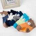 2016 Nuevos Calcetines Del Bebé de Los Niños Calcetines de Verano Modelos Delgadas Calcetines de Algodón Niño de Dibujos Animados Animal Bebé Calcetines de Bebé