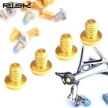 RISK Road Bike Brake Caliper Bolts Titanium C- For SHIMANO ULTEGRA And SRAM Force 22 Accessory