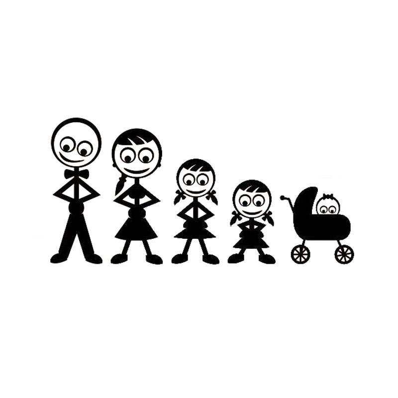 Popular Family Decal Stickers For CarsBuy Cheap Family Decal - Family decal stickers for cars