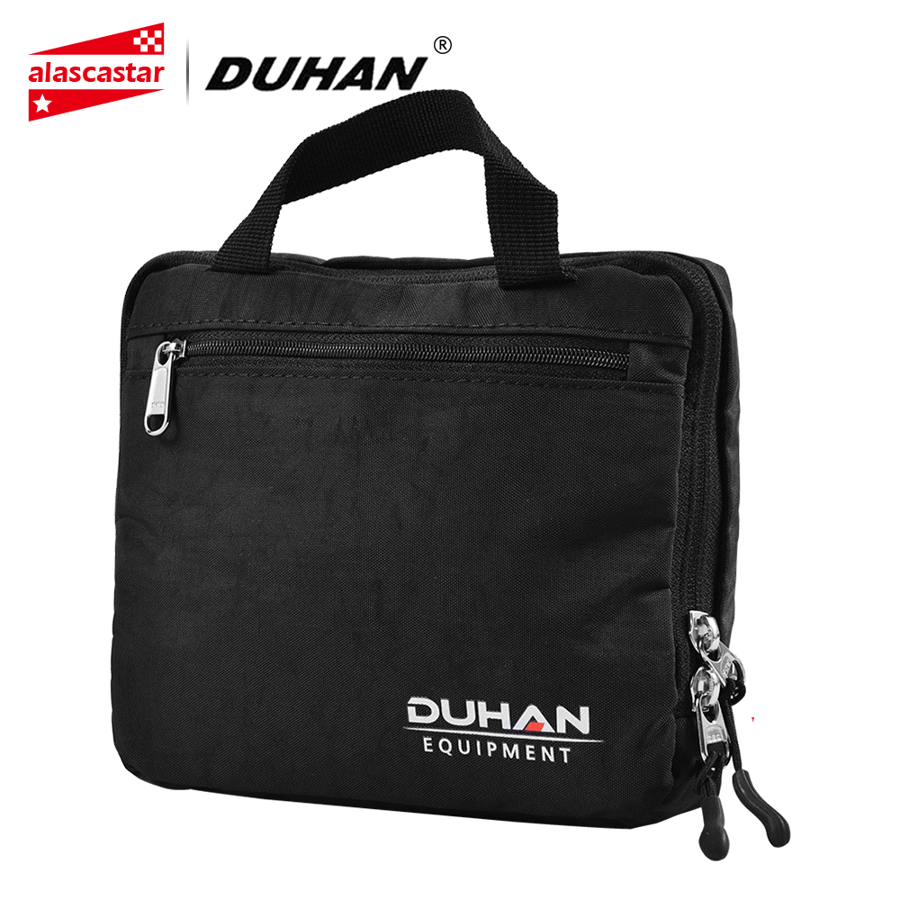 DUHAN Motorcycle Bag 17L Foldable Motorcycle Luggage Bags Men Women Motorcycle Helmet Bag Reflective Leisure Travel Backpack