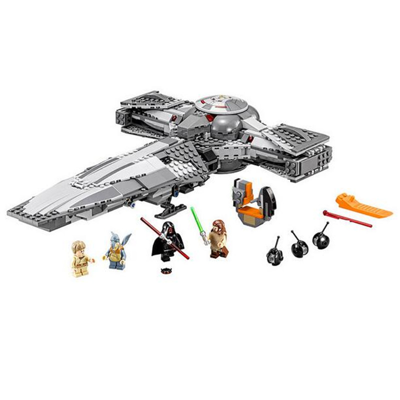 698pcs New Brand Compatible Sith Infiltrator Building Bricks Kits Assembly Force Awaken Figures Blocks Toys Gift