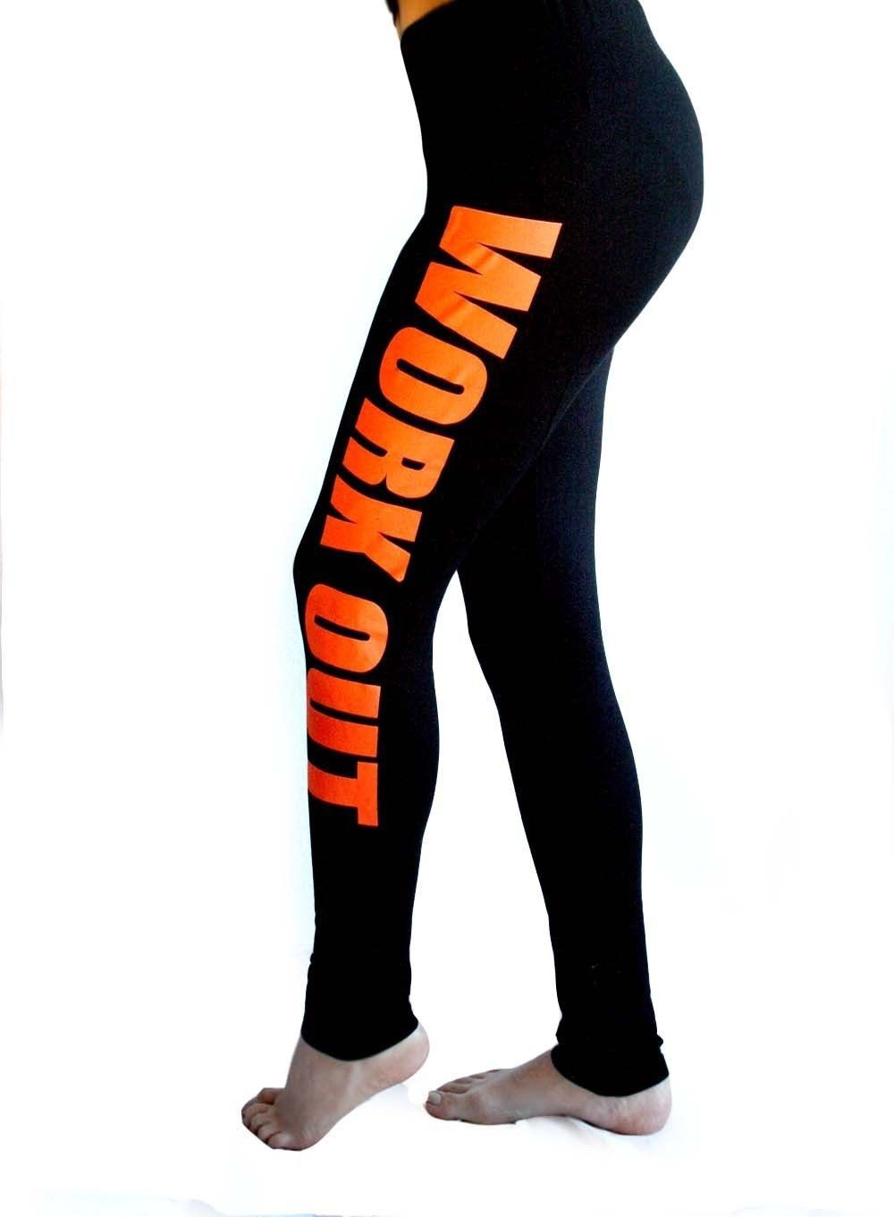 88af8205d1 KOSMO MASA 2017 Women Cotton Legging Pants Work out Printed Black ...