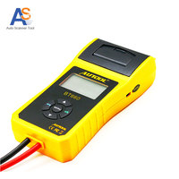 Free Shipping AUTOOL BT 660 Car Battery Tester Adjust System Time With Built In Printer BT660