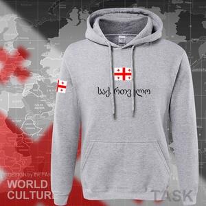 Image 5 - Georgia hoodie mannen sweatshirt zweet nieuwe hip hop streetwear trainingspak natie voetballer sporting land vlag GEO Georgische