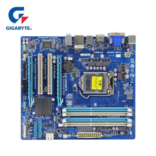 Оригинальный Gigabyte GA-B75M-D3H материнская плата LGA 1155 DDR3 Оперативная память 32G B75 B75M D3H настольная материнаская плата B75M-D3H DVI VGA HDMI USB3 б/у