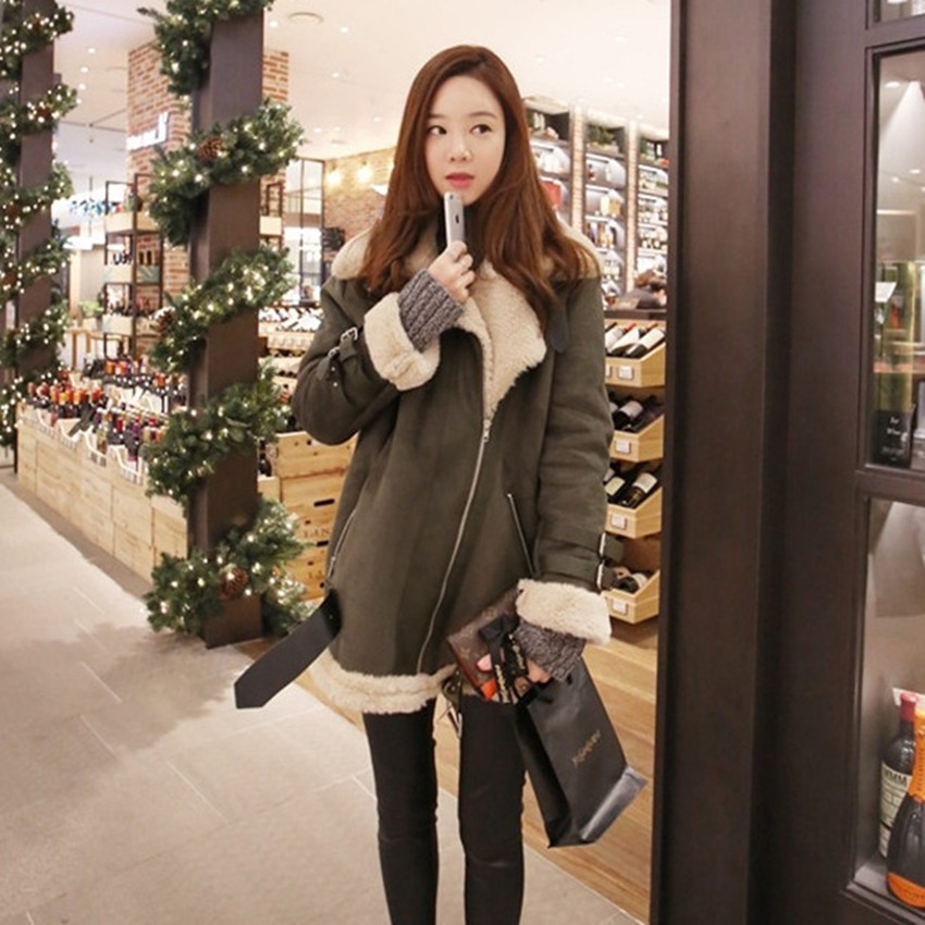 2017 New Good Quality Women British England Style Winter Coats Fux Leather Thick Cotton Fahion Lady Pockets Jackets new england textiles in the nineteenth century – profits