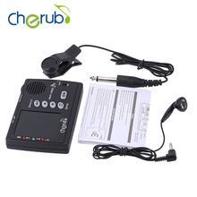 Cherub WMT-555C 3 in 1 Intonation trainer Electronic Digital Tuner – Metronome – Tone with Pickup for Violin, Guitar, Bass