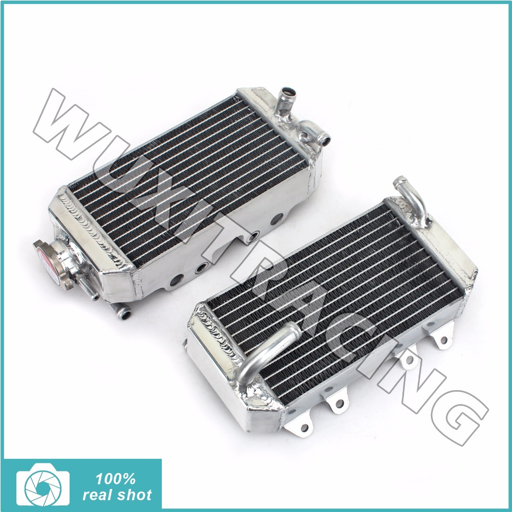 L r aluminium core mx offroad bike motorcycle parts radiators cooler cooling for honda crf150r