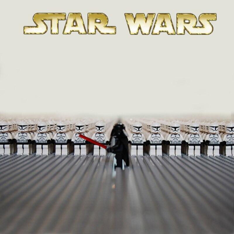 Oyuncaklar ve Hobi Ürünleri'ten Bloklar'de 100 adet/grup Star Wars SW201 Clone Trooper Klon Savaşları mini bebek şekil uyumlu 7675 8018 10195 7679 yapı Taşları çocuk oyuncakları'da  Grup 1