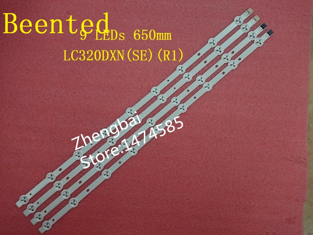 (New Kit)4 PCS for LC320DXN(SE)(R1) LED strip 6916L-1030A 6916L-1031A 6916L-0923A 6916L-0881A 9 LEDs 650mm(New Kit)4 PCS for LC320DXN(SE)(R1) LED strip 6916L-1030A 6916L-1031A 6916L-0923A 6916L-0881A 9 LEDs 650mm