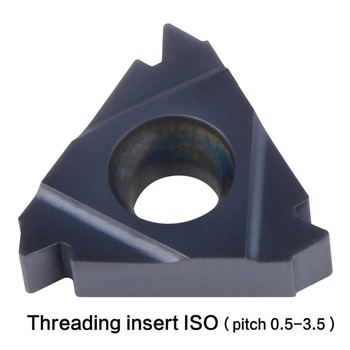 ISO thread 06IR 08IR 11IR 16IR 16ER pitch 0.5 -3.5mm internal and extenal threading insert General pitch lathe thread tool internal extenal threading insert 06ir 08ir 11ir 16ir 16er 22ir 22er 27ir 27er a55 a60 ag55 ag60 general pitch lathe thread tool