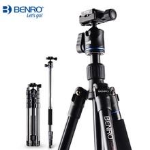 Promo offer Benro IT15 Aluminum Lightweight Tripod Kit Mobile Table Tripod Monopod Video Ball Head Portable Camera Bracket For Digital SLR